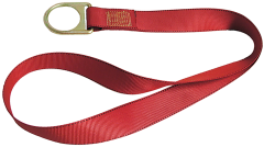 PointGuard Residential Anchorage Connector Strap w/D-ring, 3'
