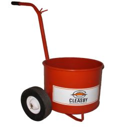 13 Gallon Mop Carts: Round Bucket