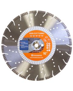 16inch VARI-CUT Turbo Diamond Cutter Blade 542751360 HUSQVARNA at Panther East | Professional, Industrial Power Tools, Equipment, Blades, fasteners, Safety and Supplies at +1215-335-6797