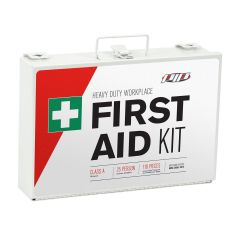 PIP 25 PERSON FIRST AID KIT ANSI CLASS A IN METAL CASE 299-15025A-M REFILL PACKS KITS