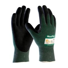 Maxi Flex (GREEN) Nitrile Dipped Glove