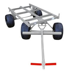 4 Wheel Cart w/ Flat Free Tires