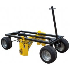PENETRATOR ORIGINAL MOBILE FALL PROTECTION CART FOR 5 WORKERS 65033 ROOF ZONE TIE DOWN SAFETY