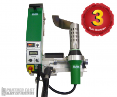BAK LarOn-H high speed roof welder - Leister Varimat