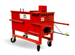 bf-30 cleasby air-jacketed kettle for hot rubber asphalt roofing and waterproofing.