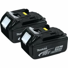 18-volt LXT Lithium-Ion 5.0Ah Battery, 2-Pack