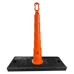 """Channelizer and Base for Roof Perimeter Warning Lines 