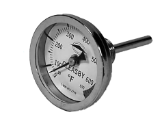"""12"""" Inspector's Thermometer with Angled Handle"""