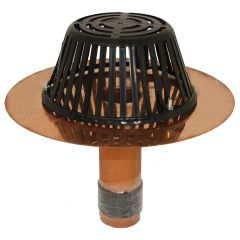 "COPPER TITE RETROFIT REROOFING ROOF DRAINS - MARATHON - 2"" with 18"" Flange or 14 inch Flange"