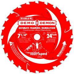 "7-1/4"" x 24T Demo Demon Blade"