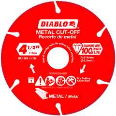 Diamond Metal Cut-Off Blade