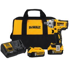 """20V MAX* XR Brushless 1/2"""" Mid-Range Cordless Impact Wrench with Detent Pin Anvil"""