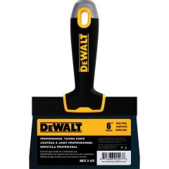 "DeWALT 6"" Blue Steel Soft Grip Taping Knives"