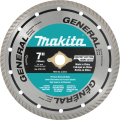 "7"" Diamond Blade, Turbo, General Purpose"