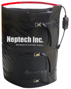 55 Gallon Heated Drum Warmer Blanket