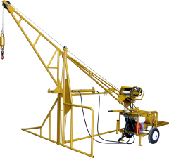 Hydraulic Swing Hoist - 1000 lbs