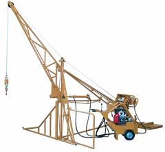 Hydraulic Swing Hoist - 2000 lbs