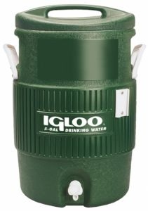 igloo 5 Gallon Handle Top Green