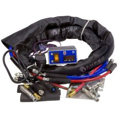 Heated Hose with Temp. Controller • 120V & 240V Kits