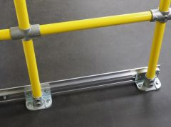 Kwik-Rail (Floor Mounted / Powder Coated)