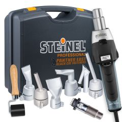 STEINEL Multi Purpose Heat Gun Hot Air Welders Kit with HG2620E handheld heat welding tool at Panther East
