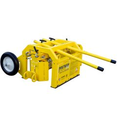 Roof Zone Tie Down Safety Mobile Fall Protection Cart Penetrator 2+2 at Panther East