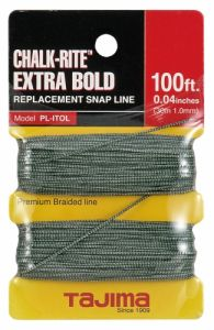 Chalk-Rite Premium-Grade Replacement Line, Extra Bold 1.0 mm (PL-ITOL)