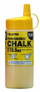Micro Chalk Ultra-Fine Snap-Line 10.5oz (PLC2-Y300-Yellow)