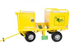 RAPTOR CART - R2000 Leading Edge Safety 4 Man Fall Protection Fall Restraint Fall Prevention Safety Cart. Best Fall Protection Mobile Roof Cart On Sale at www.panthereast.com