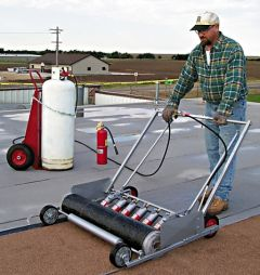 Flame Engineering - SPA-740A-Easy Roll Mount Modified Bitumen Applicator