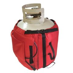 20 lbs LP Cylinder Warmer • HIGH Temperature Heated Wrap (125°)