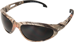 Dakura Safety Glasses, Camo with Smoke Lens