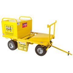 TriRex Cart, Raptor TriRex 5 Man Fall Protection Safety Cart Leading Edge Safety -