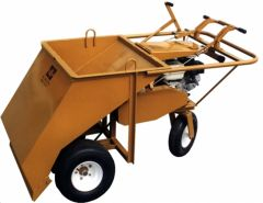 Wheels-Under Gravel Spreader - 36""
