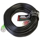 100ft-10/3 gauge STW Roofing Welder Heat Seaming Seam Welding Extension Cords with ProGlo Pro Glow Lighted Locking End Plugs, CENTURY WIRE AND CABLE, SOUTHWIRE, SOUTH WIRE #D12110100, D12110100