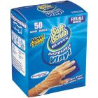 50 PACK BOX OF CLEAR VINYL DISPOSABLE GLOVES | Soft Scrub Gloves and other body protection, hand protection, and PPE on sale and in stock at www.PantherEast.com