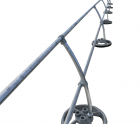 ACCU-FIT Mobile Guardrail | Curved Stanchions