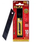 OLFA 18mm HD Black Snap-Blades (10 PACK) LBB-10B