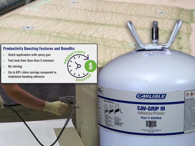 CAV-GRIP III - Best In Roofing Bonding Adhesive