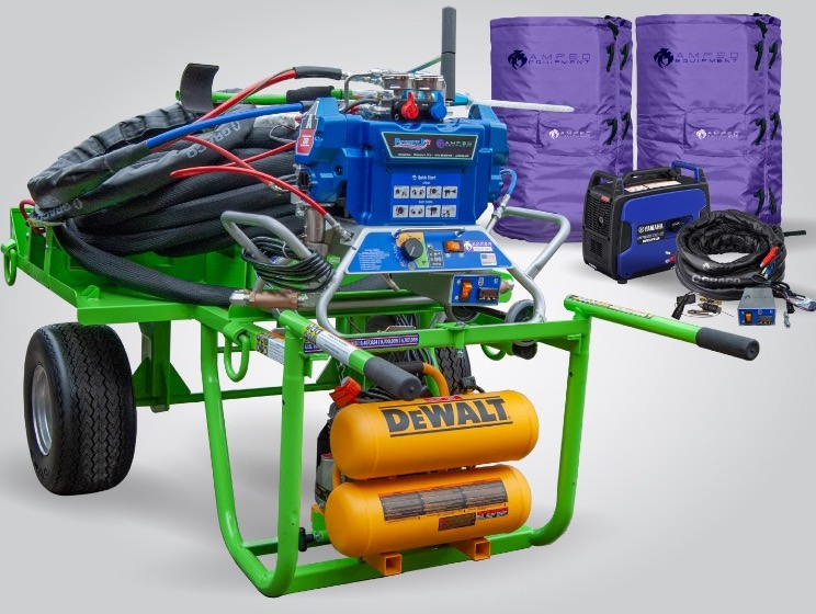 Best for Roofing In Cold Weather • Extend Your 2020 Spray Season With Ultimate Heating Kits