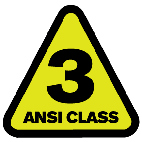 ANSI 107 COMPLIANCE TYPR 3 CLASS R PIP HIGH VISIBILITY SAFETY GEAR 4033 WEST CHESTER