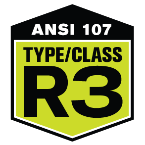 ANSI 107 COMPLIANCE TYPR 3 CLASS R PIP HIGH VISIBILITY SAFETY GEAR 4033
