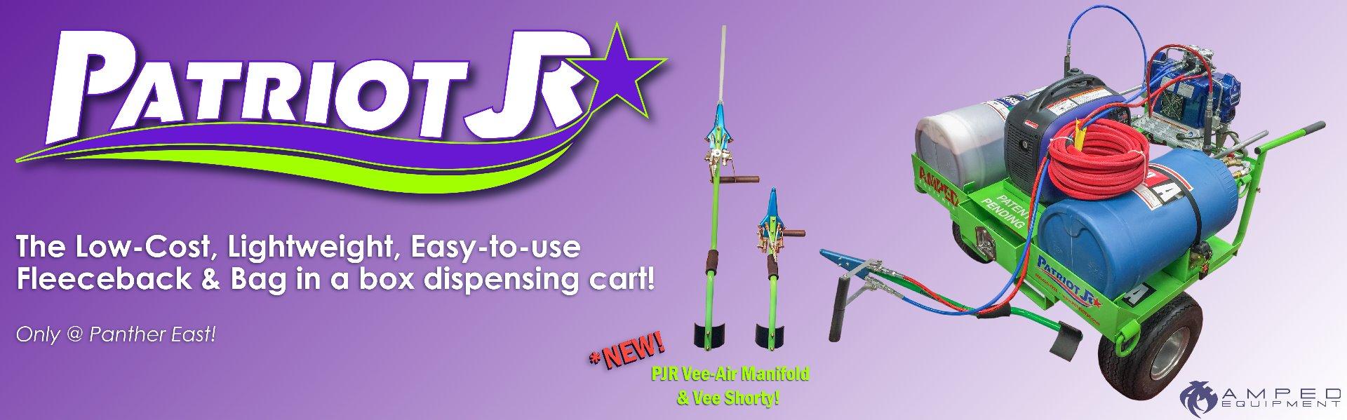 The Patriot Junior / PJR, Mobile Spray Foam Cart