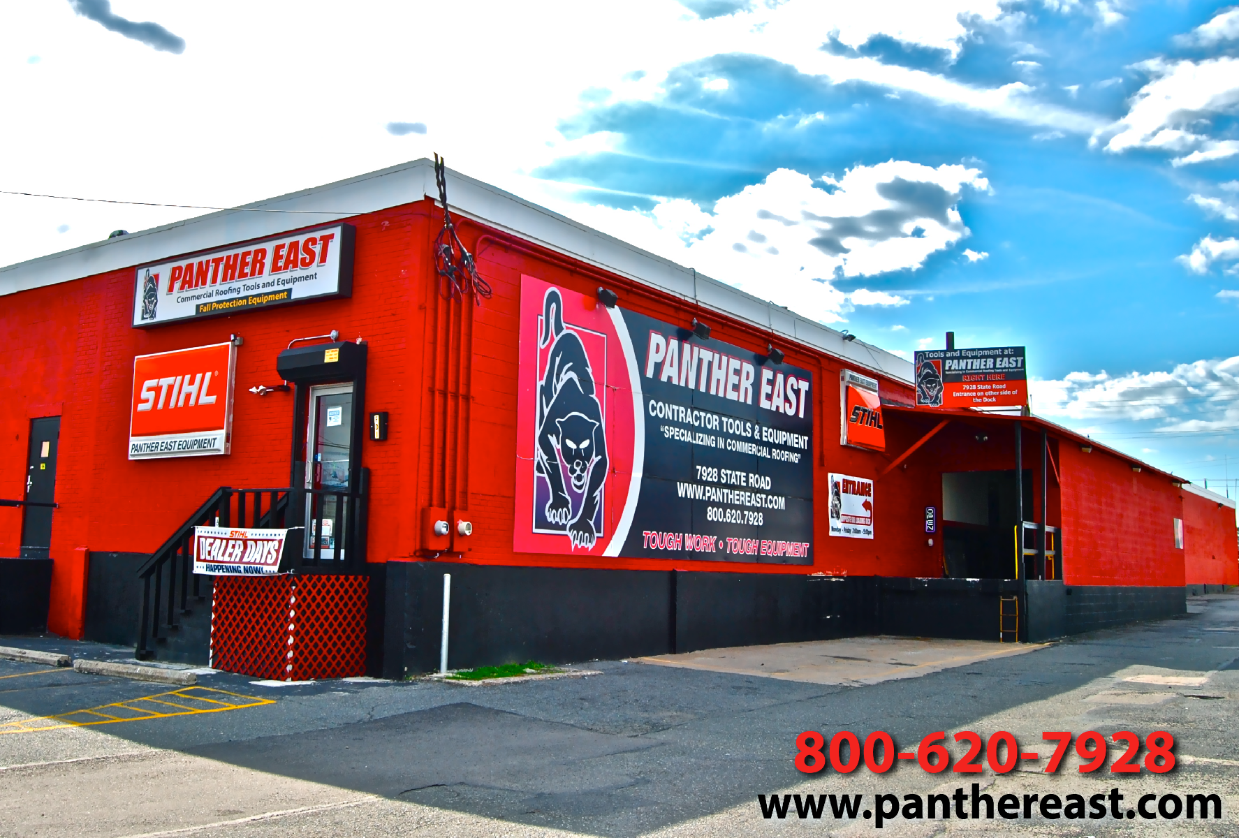 Panther_East_Black-Cat-Fasteners_Outside-Stret-View_Shop_Center_Warehouse_Headquarters_Campus_Authorized_Dealer_Service_Repair_Center_Rent_or_buy_tools_equipment