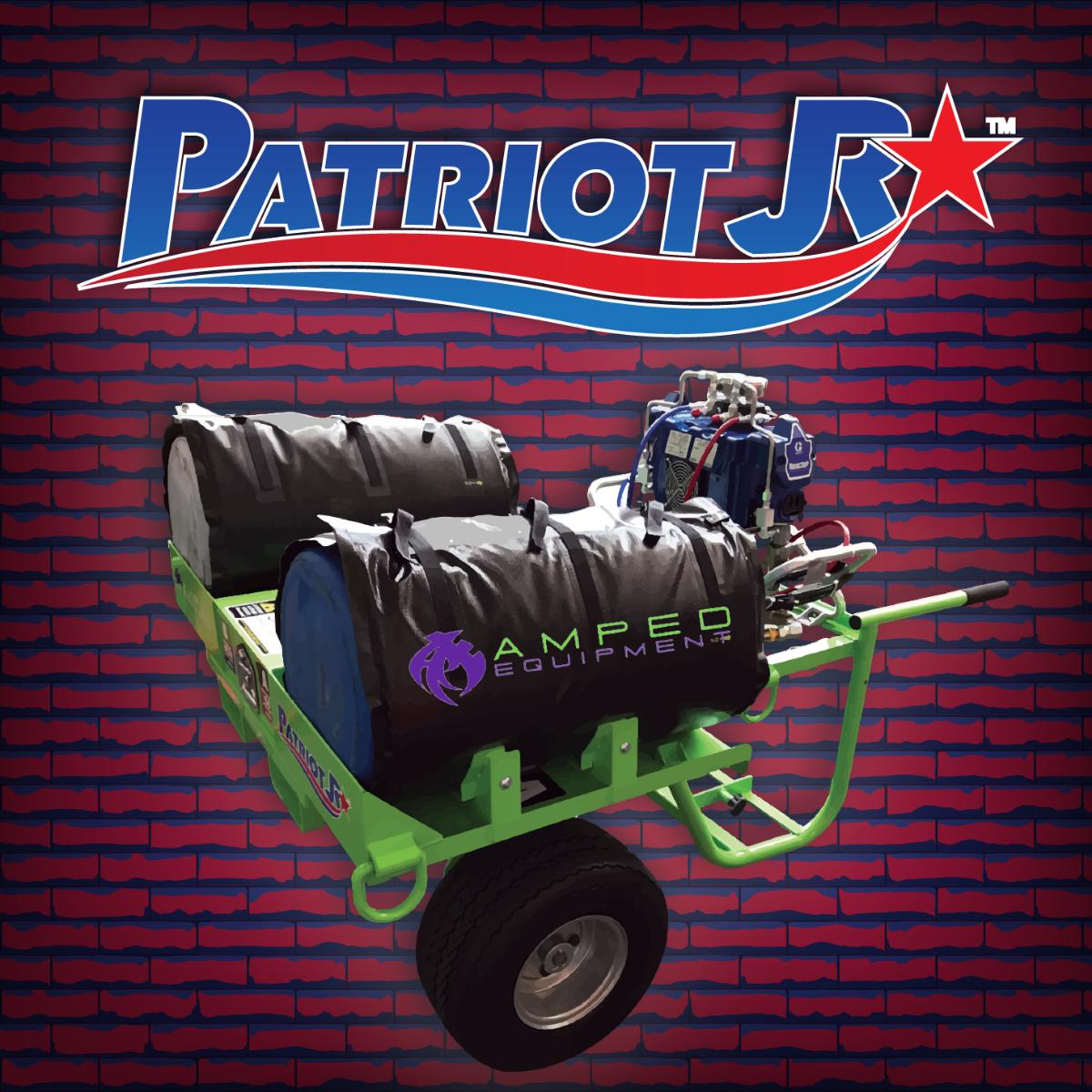 Patriot Junior PJR - Heated, Mobile Spray Foam & Material Application Cart